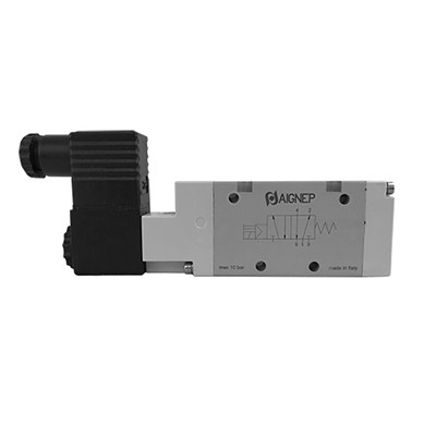 Single Solenoid Pilot - 5/2 - Standard Connector - BSPP