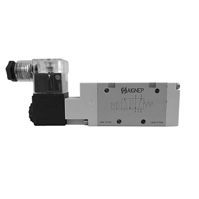 Single Solenoid Pilot - 5/2 - LED Connector - NPTF