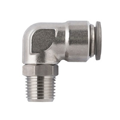 Swivel Elbow Stainless - BSPT