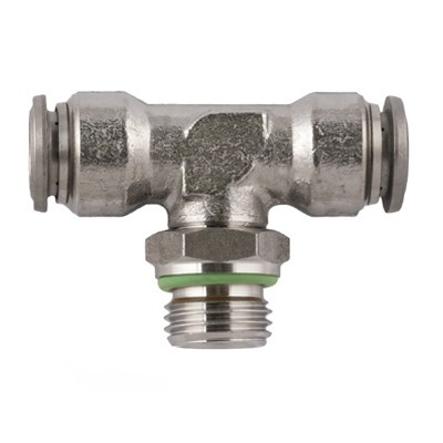 Swivel Branch Tee Stainless - BSPP