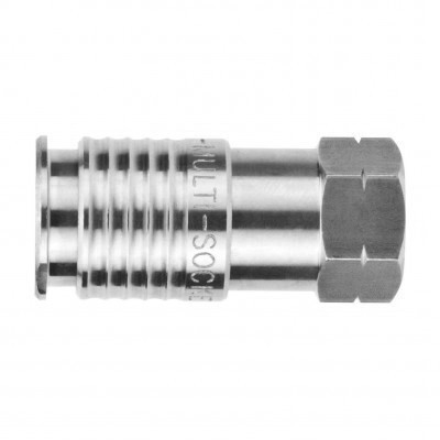"""1/4"""" Female  BSPP 316L (STAINLESS)"""