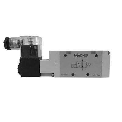 Single Solenoid Pilot - 3/2 - LED Connector - NPTF