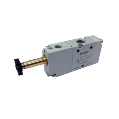Single Solenoid External Pilot - 3/2 - NPTF
