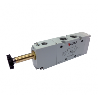 Single Solenoid External Pilot - 5/2 - NPTF