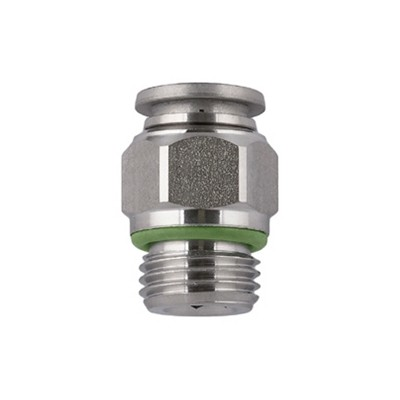 Straight Male Stainless - BSPP