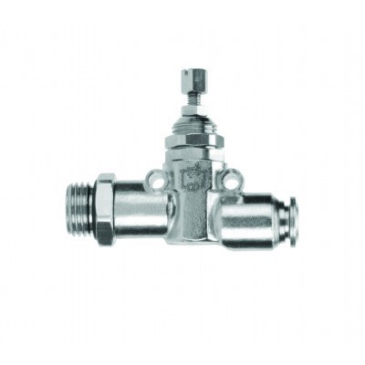 Inline Needle Valve Male x Tube
