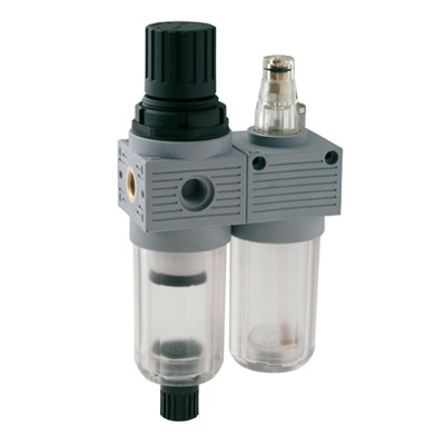 Mini Filter Regulator + Lubricator